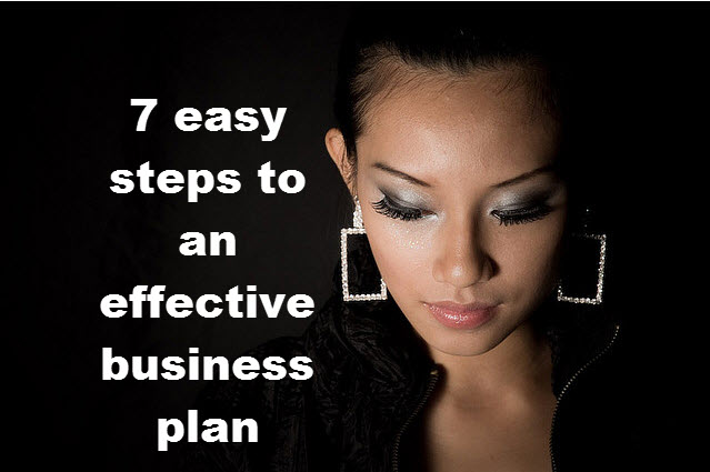7 easy steps to an effective business plan